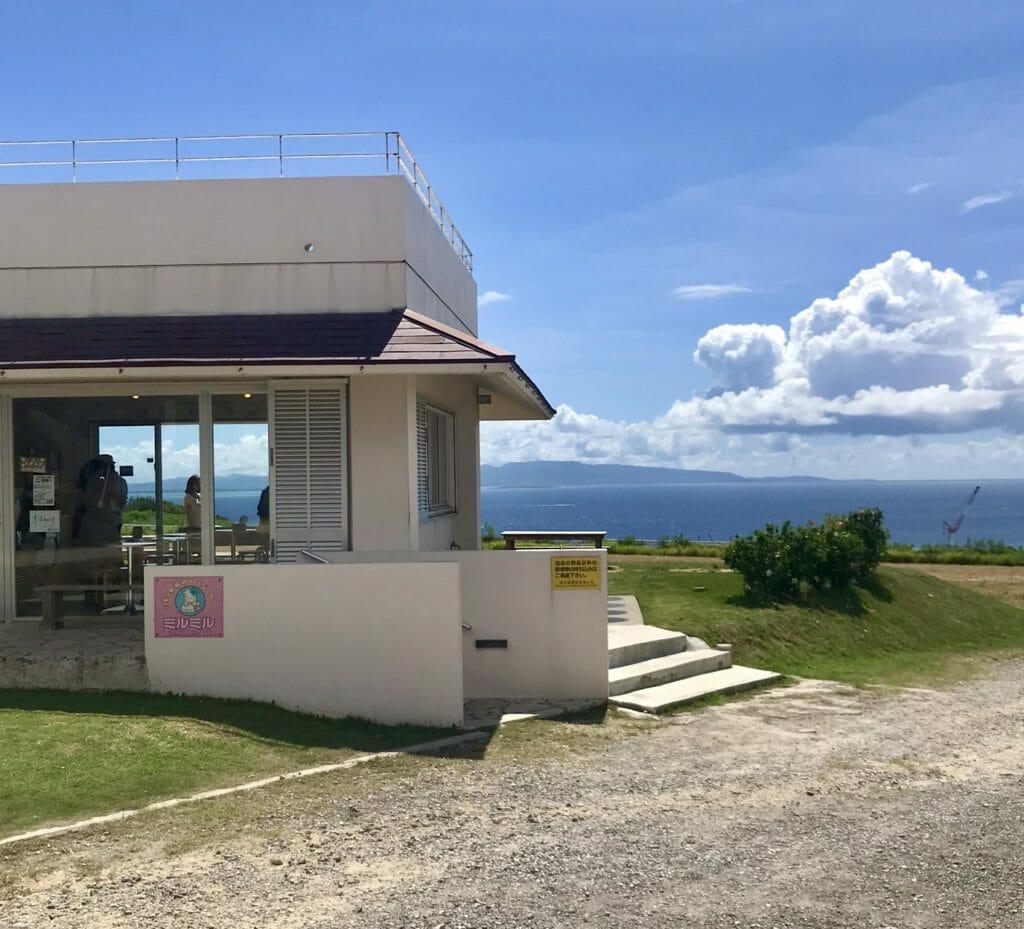 石垣島 ミルミル本舗からの風景