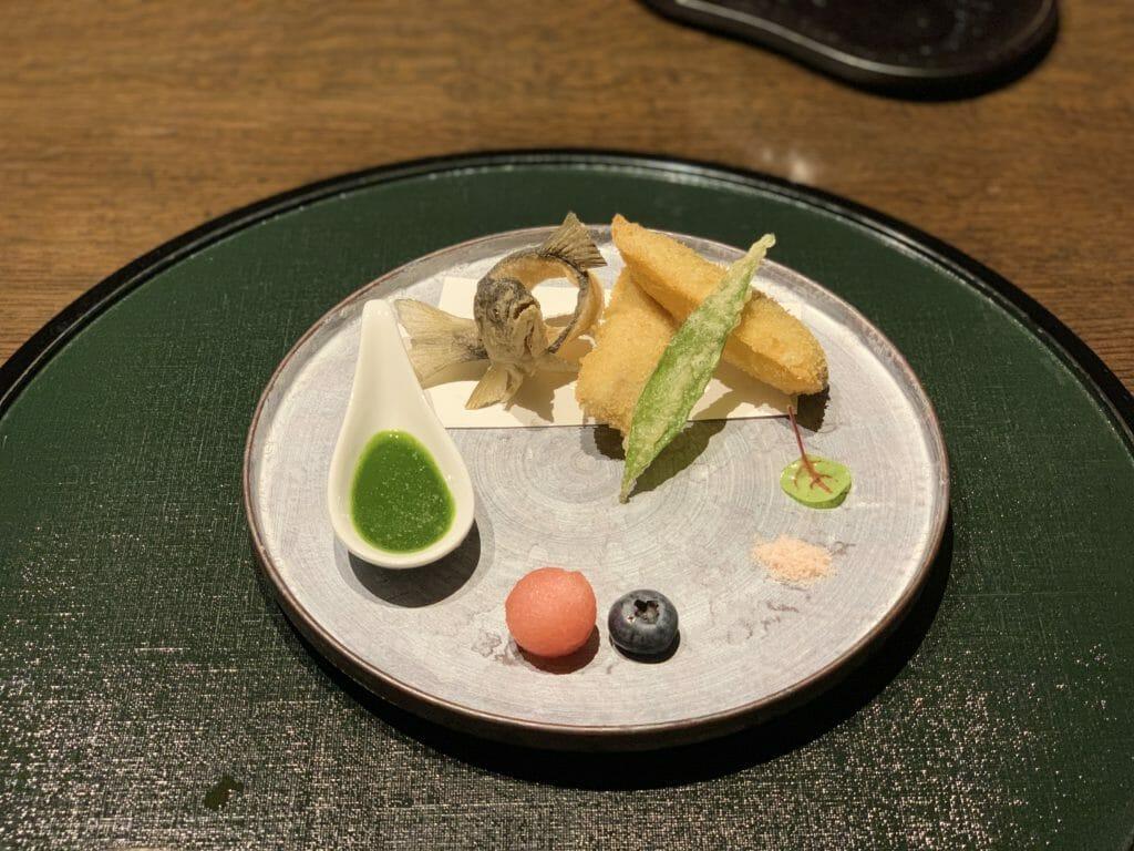 「あせび野」自慢の季節の会席料理9