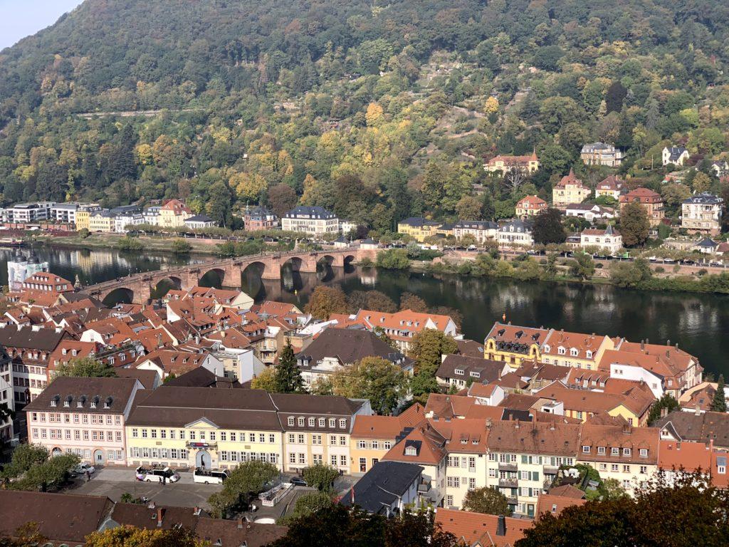【3日目】古城とドイツ最古の大学がある美しい都市ハイデルベルクを日帰り観光!
