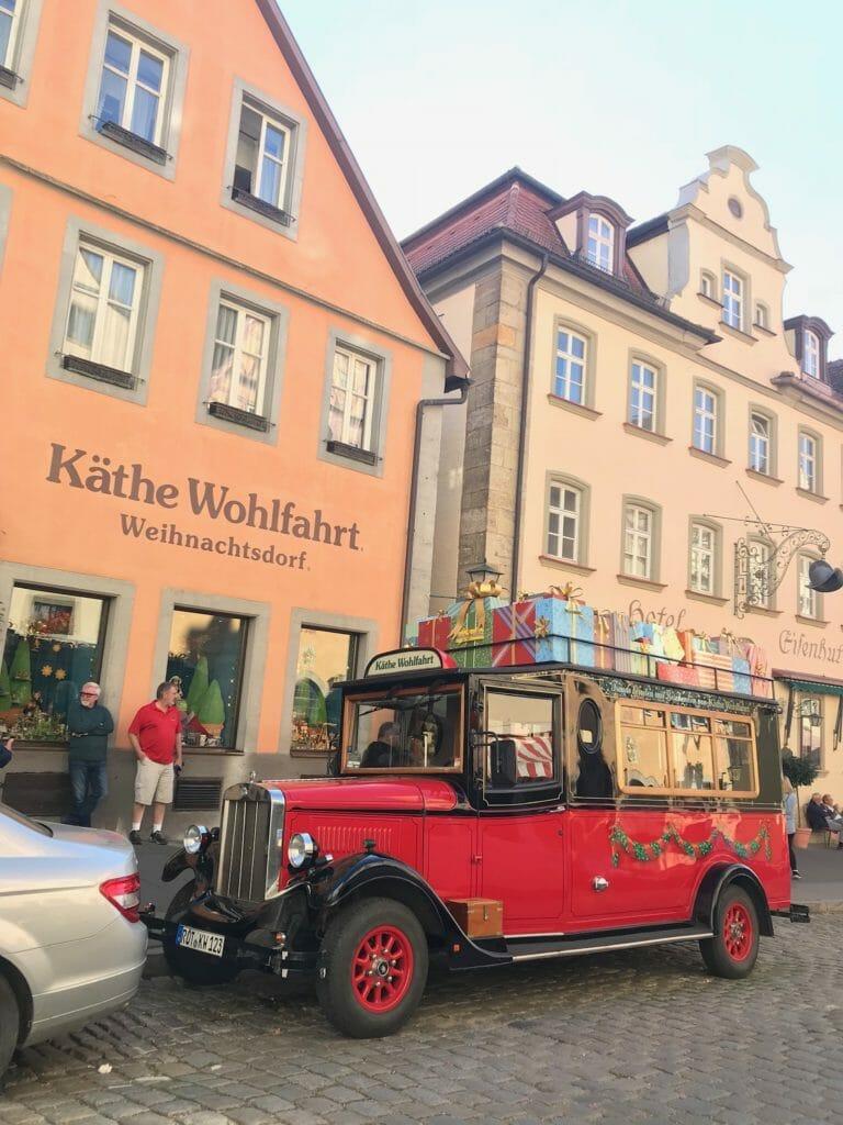【4日目】鉄道でローテンブルクまで移動!ロマンチック街道の宝石といわれる街を観光!