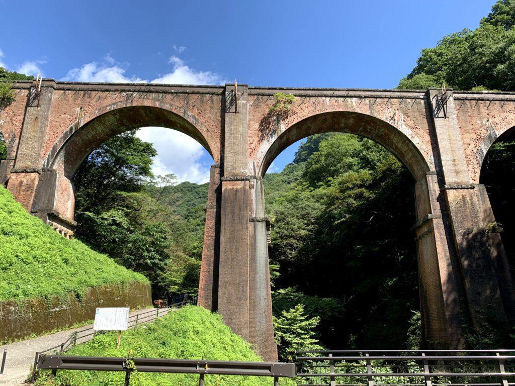 軽井沢への道中「めがね橋」に立ち寄ろう