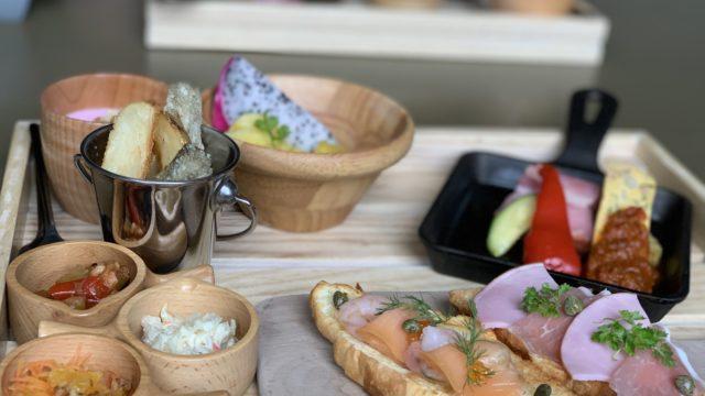 グランディスタイル沖縄読谷の朝食を紹介|インスタ映え間違いなし!