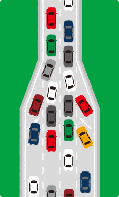 中央道(上り)はなぜこんなに渋滞するのか?−5
