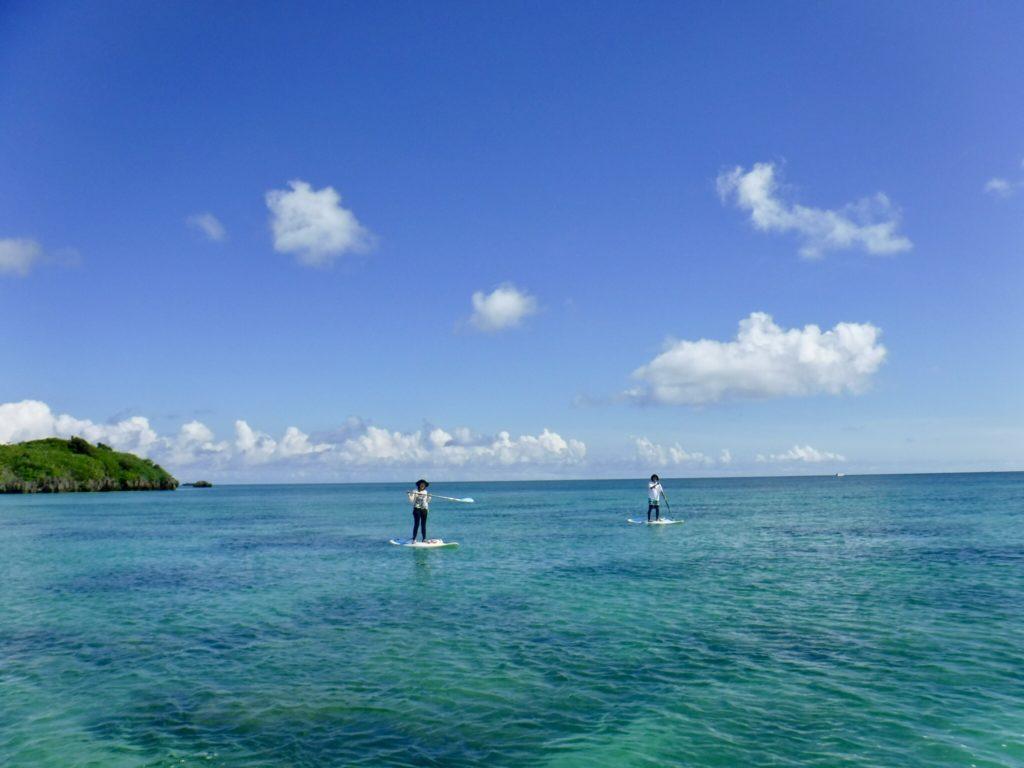 川平湾をSUPで周遊しながらシュノーケリングを楽しむアクティビティ7