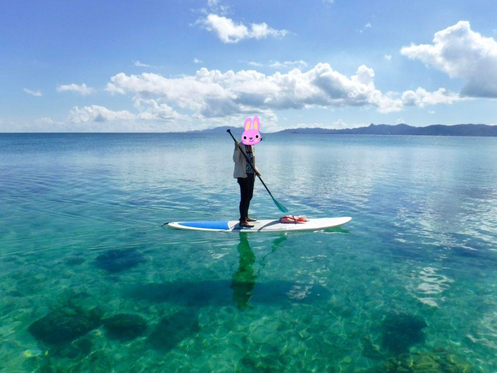 川平湾をSUPで周遊しながらシュノーケリングを楽しむアクティビティ8