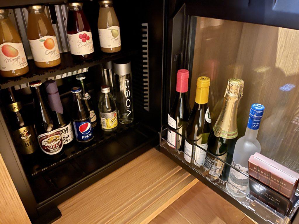 ザ・リッツ・カールトン京都の客室の有料お酒