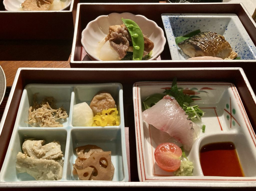ザ・リッツ・カールトン京都の朝食の和食2