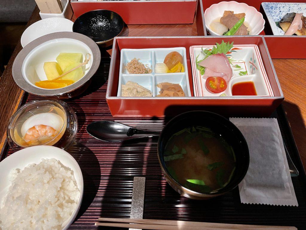 リッツカールトン京都の朝食は「ラ・ロカンダ」で