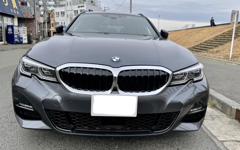 BMW320dツーリングの紹介-フロント