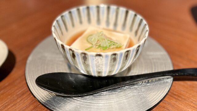 リッツカールトン京都朝食の豆腐