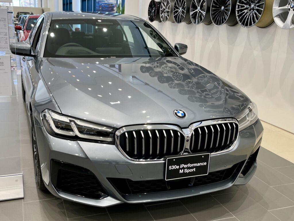 新型BMW530e Mスポーツの外装1