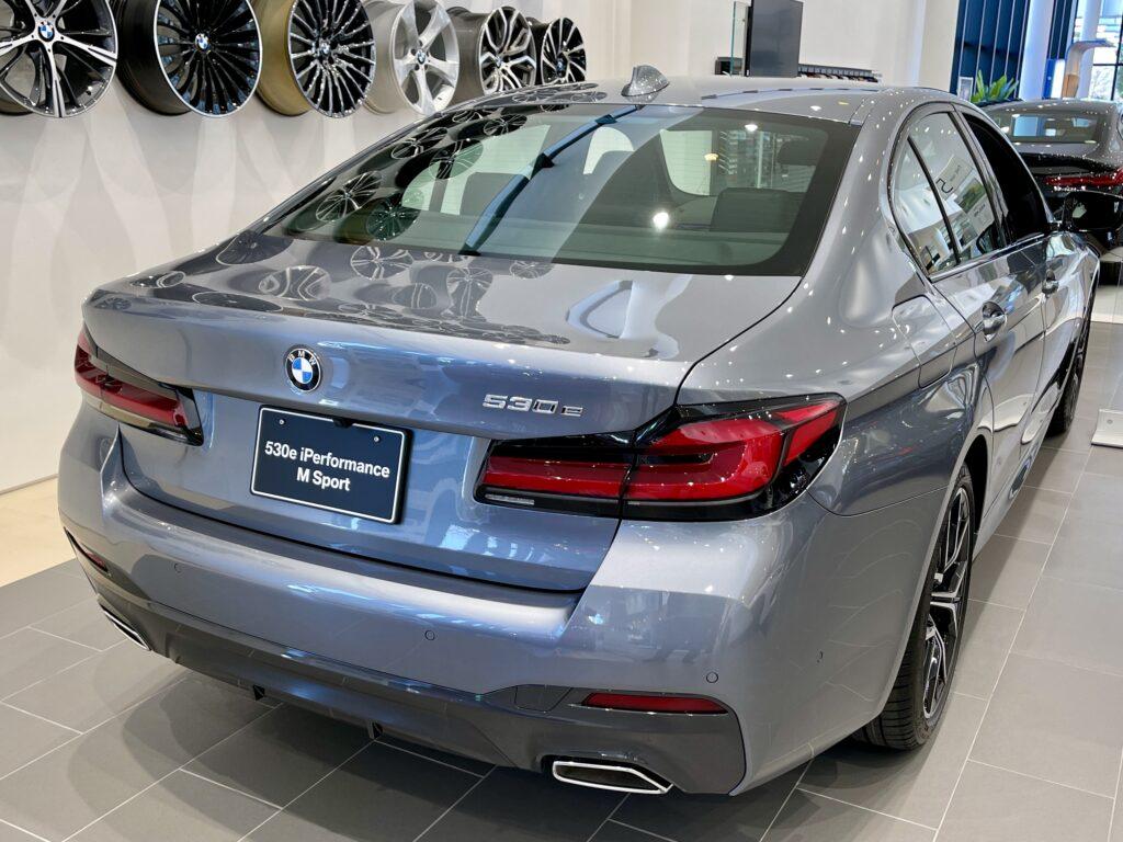 新型BMW530e Mスポーツの外装3