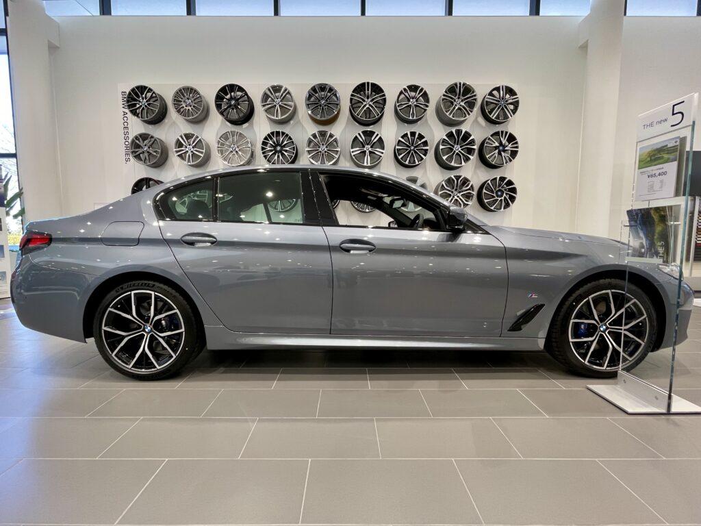 新型BMW530e Mスポーツの外装2