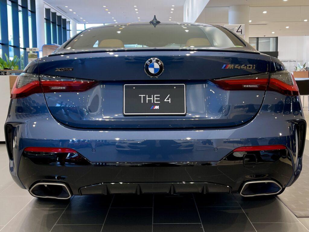 新型BMW M440i xDriveのエクステリア リアビュー