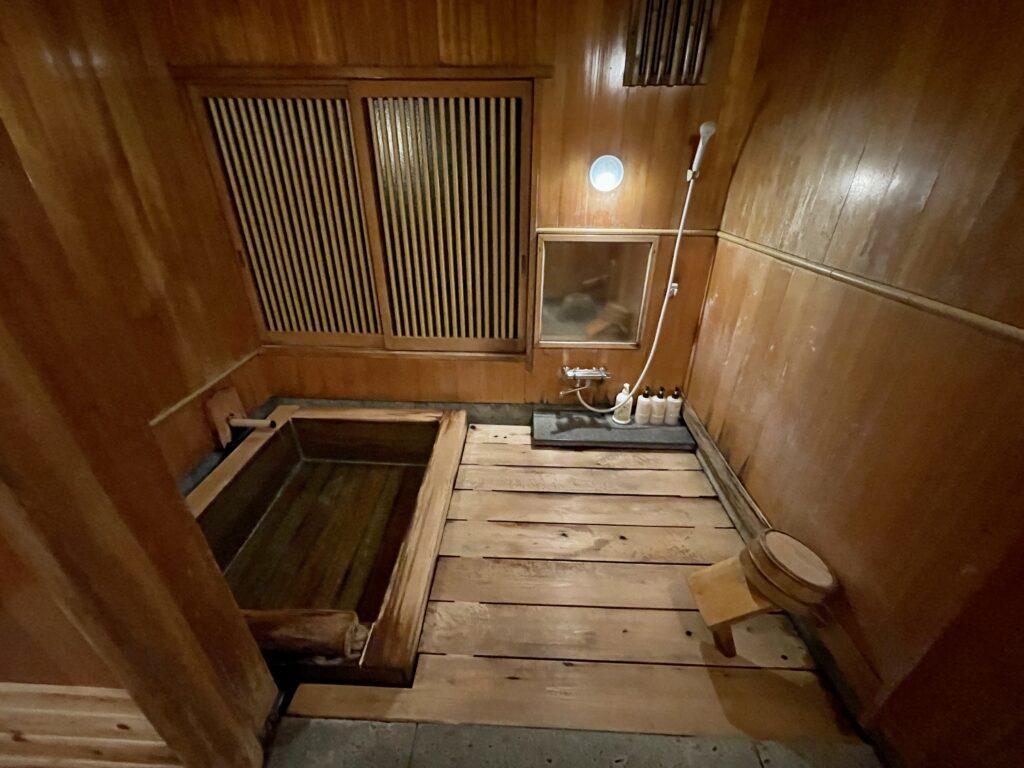 嵯峨沢館の貸し切り家族風呂2
