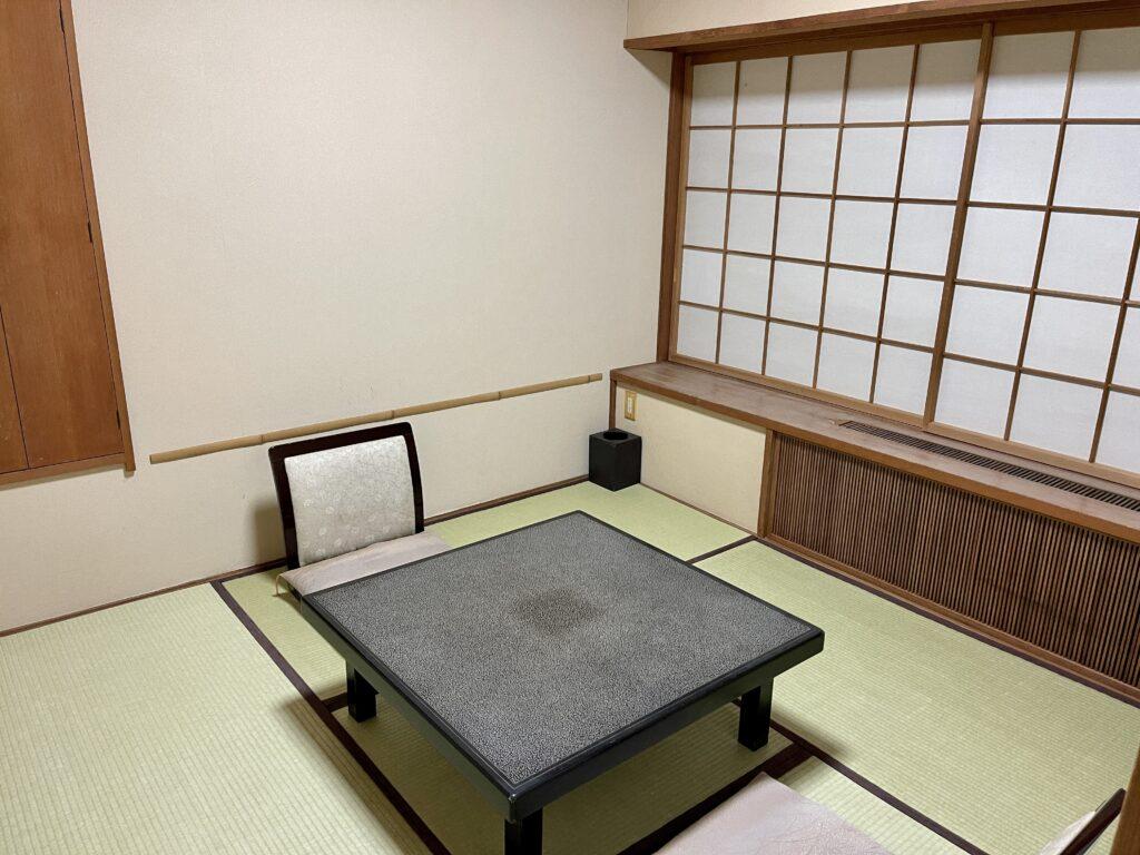 嵯峨沢館 客室の小和室