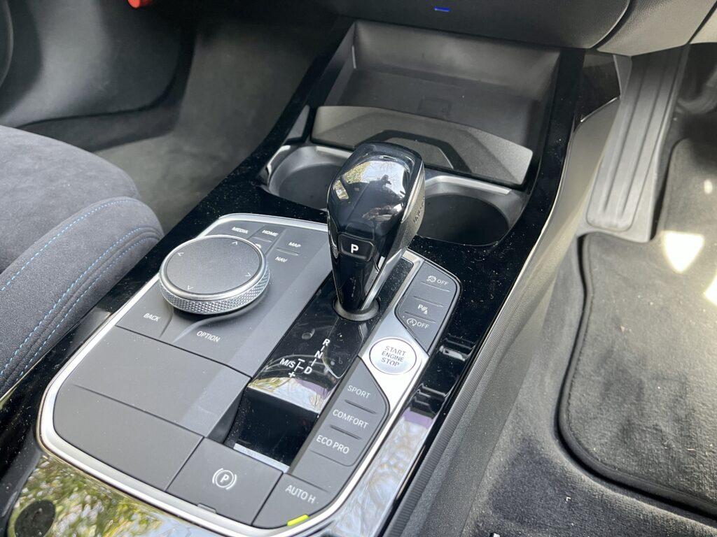 新型BMW M135i xDriveの内装 センターコンソール