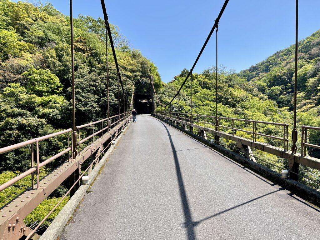 金乃竹宿専用吊橋