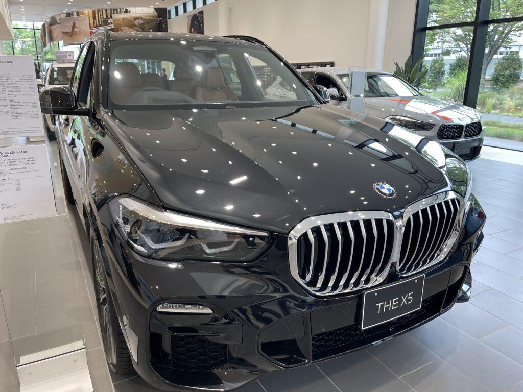 新型BMW X5 M50iの外装1