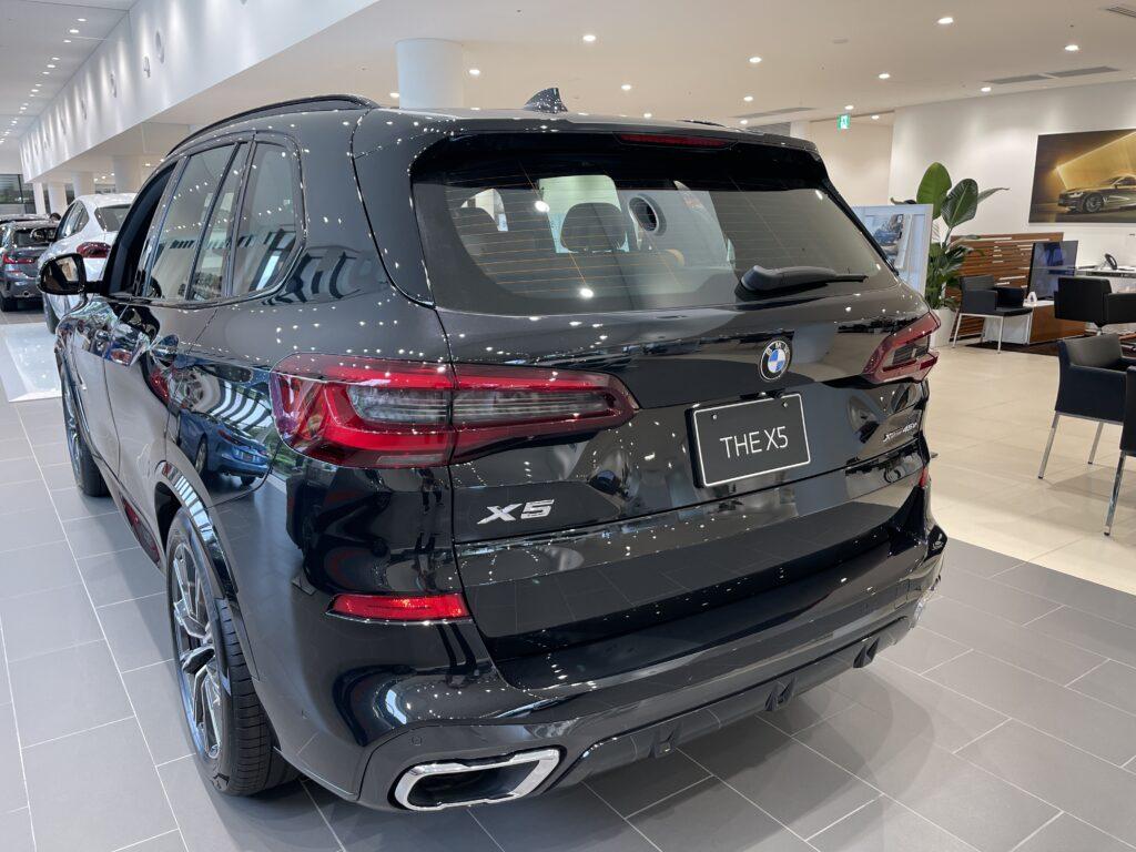 新型BMW X5 M50iの外装4