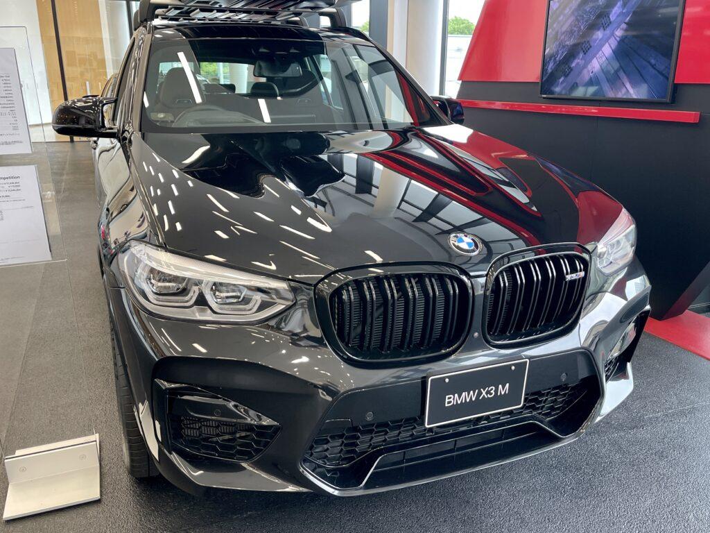 BMW X3Mのフロント